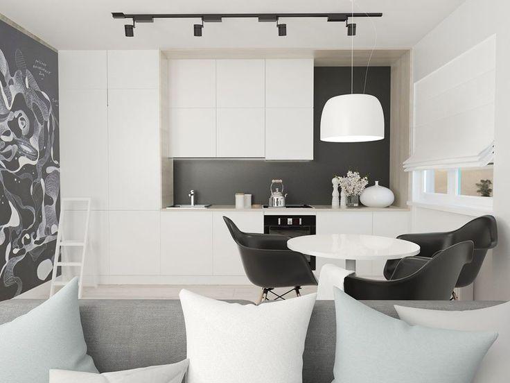 Kitchen and dining spot  FOORMA Pracownia Architektury Wnętrz