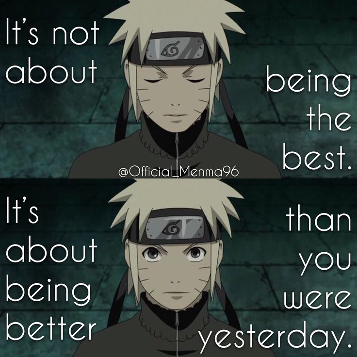 Menma || Naruto Shippuden || Anime Quote
