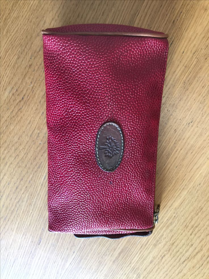 Red Mulberry small Makeup bag £40