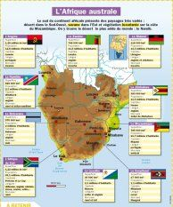 L'Afrique australe - Mon Quotidien, le seul site d'information quotidienne pour les 10-14 ans !