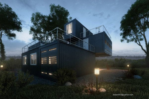 black house by Adi R Indra G, via Behance