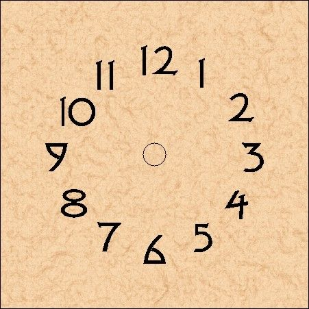 Clock Dials - Schlabaugh & Sons
