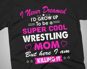 Items similar to Custom Wrestling Mom Hat on Etsy