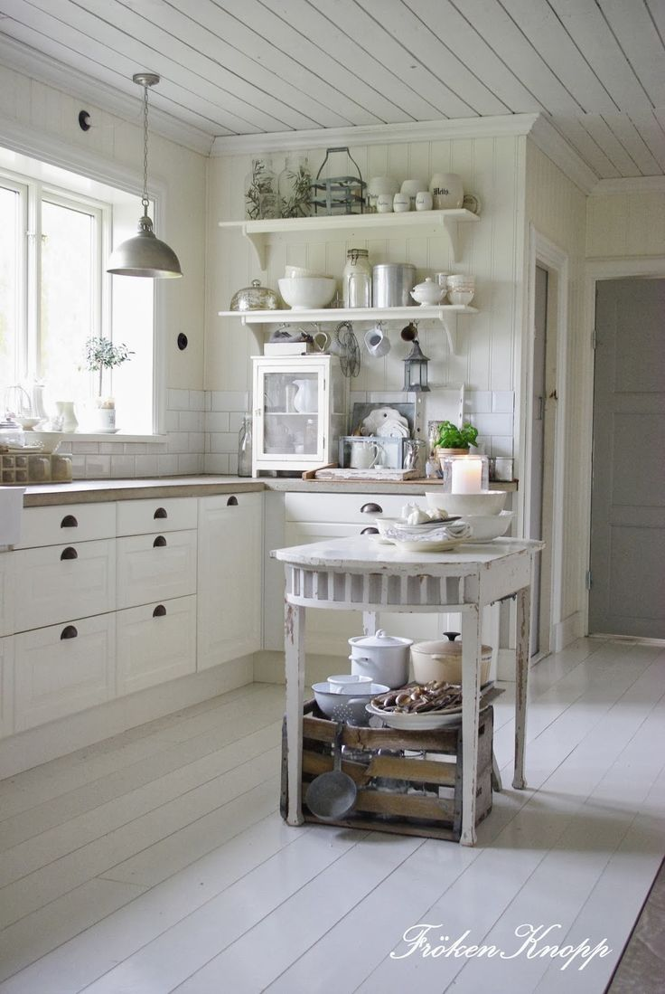 1750 best shabby chic kitchens images on pinterest for Arredamento stile nordico