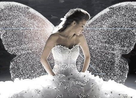 Fabulous wings on this fae, ready for her wedding it seems.