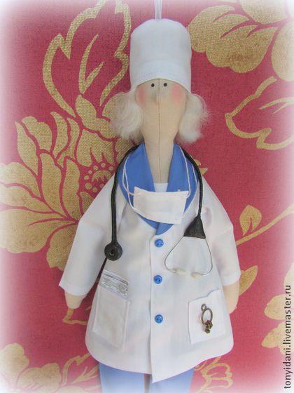 Тильда добрый врач - тильда,тильда,тильда кукла,кукла ручной работы,кукла