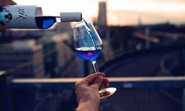 Spain bans BLUE hipster wine after ruling it's the wrong colour