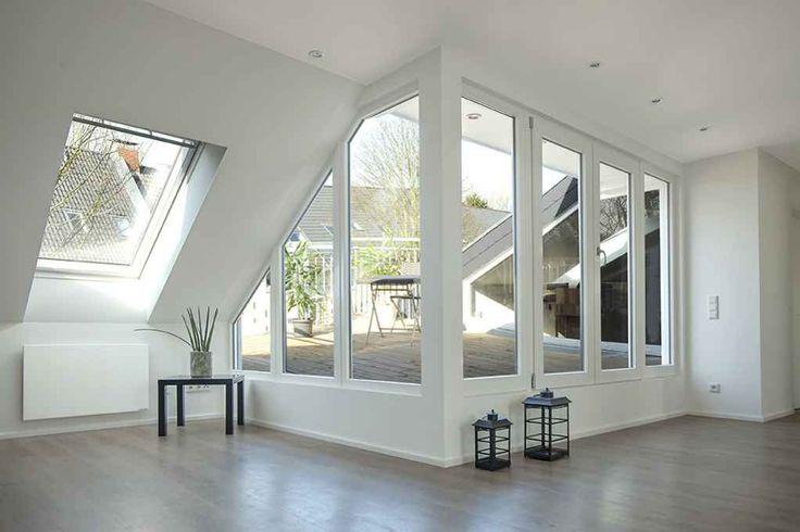 14 best ideen f r deine wohnung im dachgeschoss mit dachschr gen images on pinterest attic. Black Bedroom Furniture Sets. Home Design Ideas