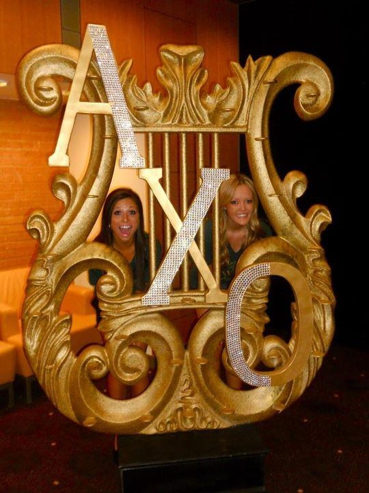 AXO letters! My eye is twitching because we're not Alpha Chi Omicron... But cute!
