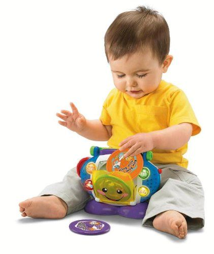 Fisher-Price Laugh & Learn Sing-with-Me CD Player Fisher-Price,http://www.amazon.com/dp/B001IEZ1BK/ref=cm_sw_r_pi_dp_3xrktb10SZ5EZET8