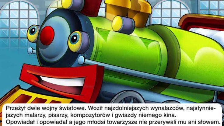 Bajka dla dzieci - Parowóz - Baśń