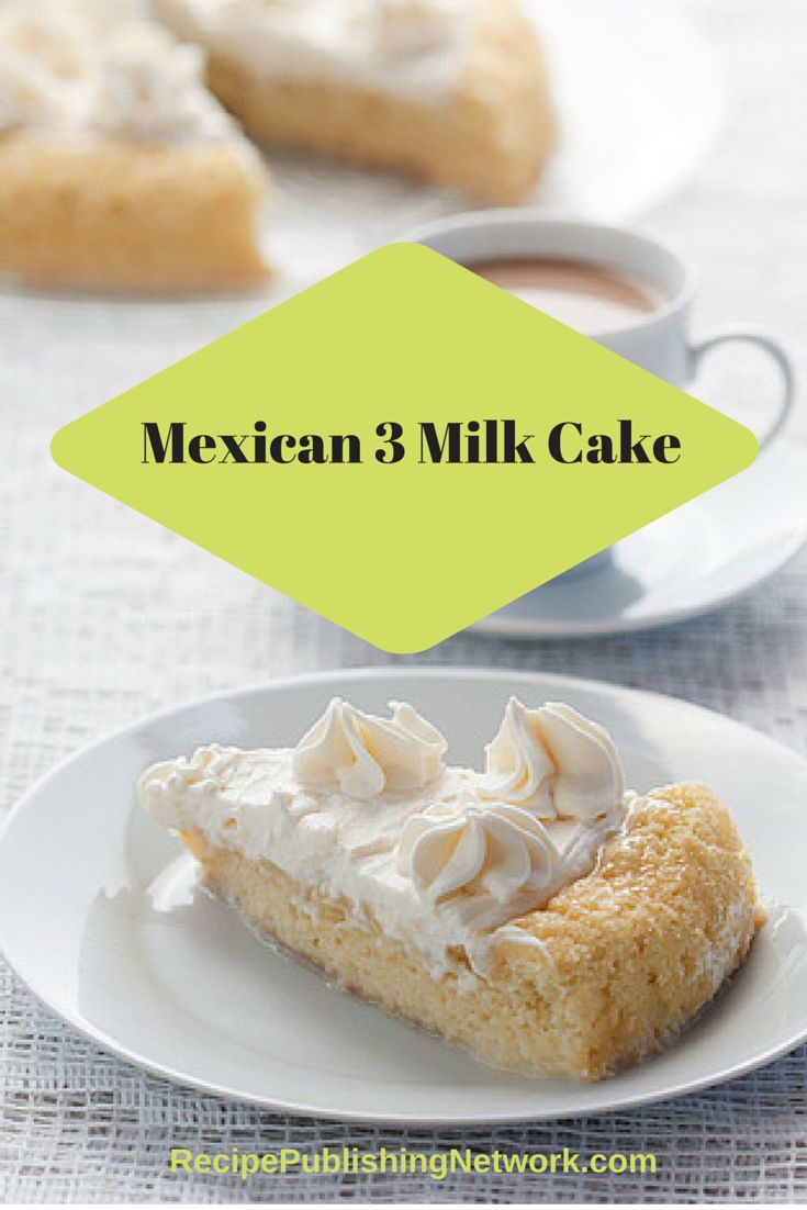 Tres leches cake is a classic example of a mouthwatering dessert. This Mexican cake is simple to prepare and it goes beautifully after any kind of entrée.