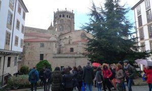 Roteiro de Carlos Casares pola cidade de Ourense. http://fundacioncarloscasares.org/2017/02/20/vinte-puntos-sinalizados-para-conecer-o-ourense-de-casares/