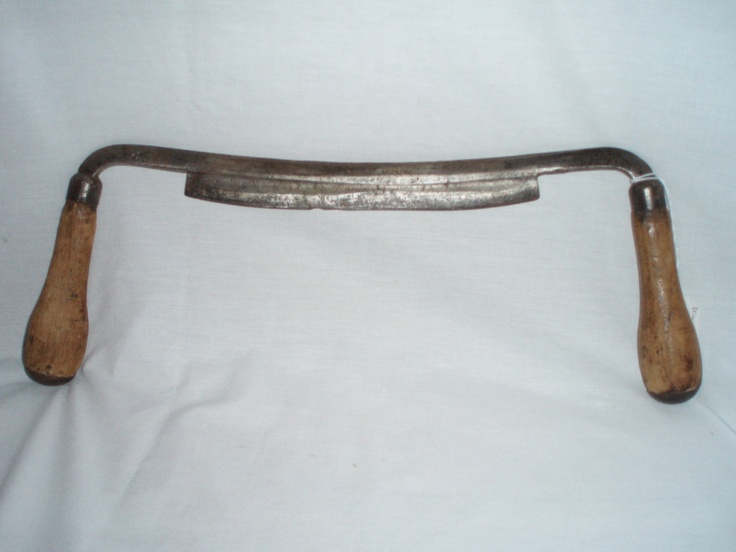 Antique draw shave draw knife TH Witherby Razor Temper ...