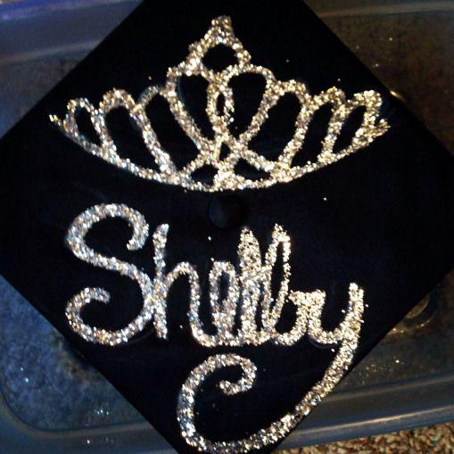 Princess Tiara Graduation Cap #highschoolgraduation #high #school #graduation #aesthetic