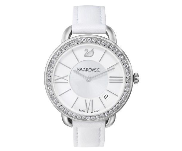 montres swarovski achat aila day white montre swarovski femme prix boutique swarovski. Black Bedroom Furniture Sets. Home Design Ideas