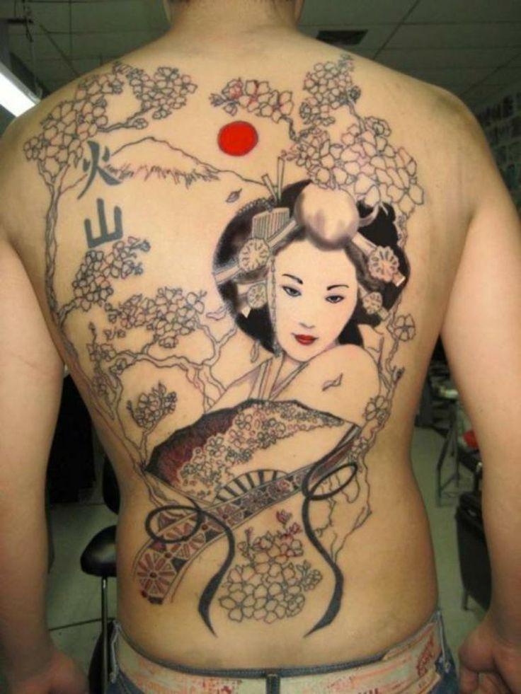 Geisha Girl Tattoos For Women - http://tattoomirror.com/geisha-girl-tattoos-for-women/?Pinterest