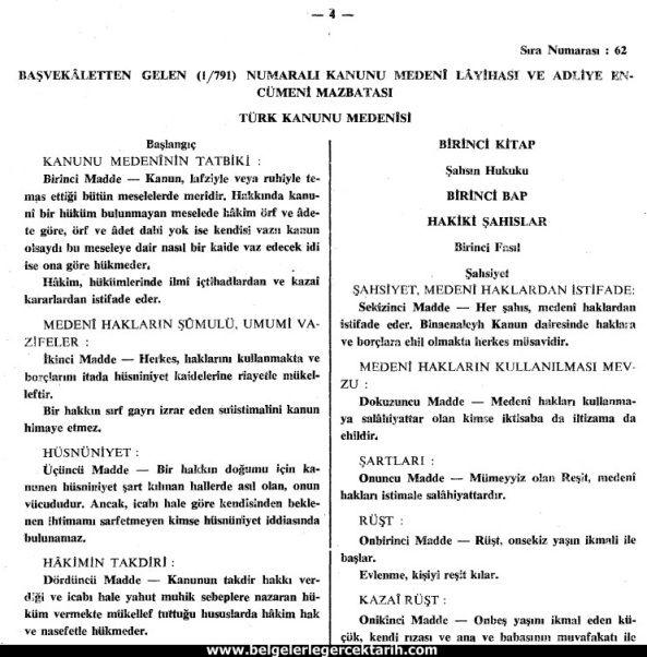 CHP'nin Islam Düşmanlığı ve Müslümanlara dayatılan Isviçre Medeni Kanunu | Belgelerle Gerçek Tarih