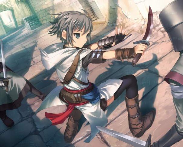 Anime Altaïr from Assassins creed | Anime | Pinterest | 20 ...