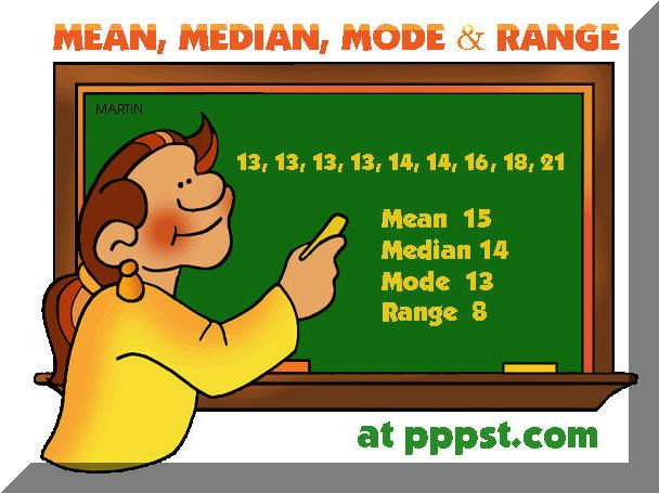 Range Math Is Fun ~ Best images about math mean median mode range on