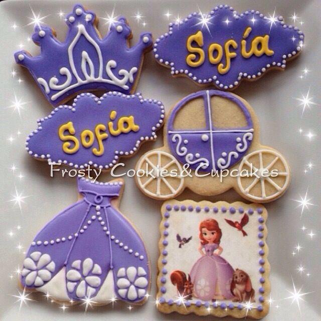 Galletas Princesita Sofia Sofia The first cookies