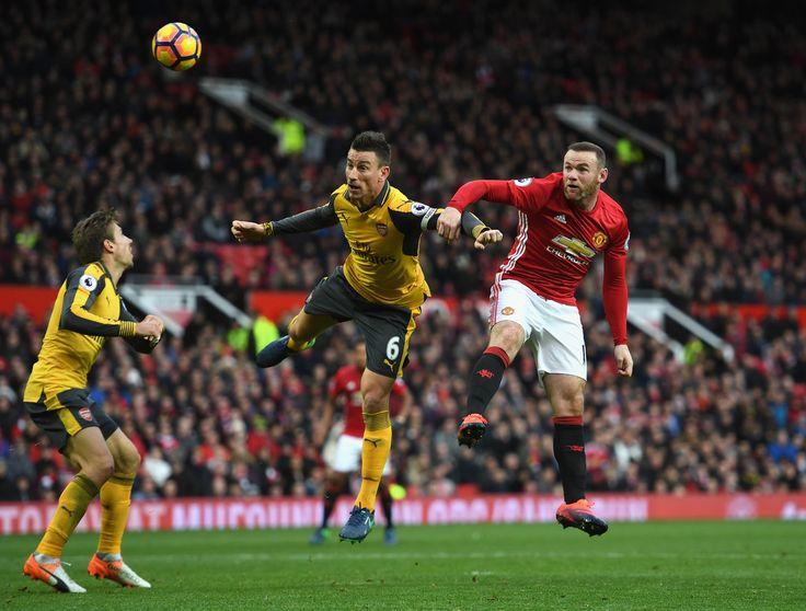 Laurent Koscielny Photos Photos - Manchester United v Arsenal - Premier League - Zimbio