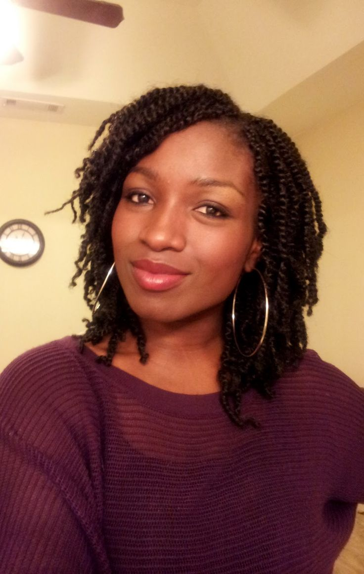 African Kinky Twist Braids | No more Afro Kinky twist!! kinky twists, marley hair, braid hairstyles http://www.shorthaircutsforblackwomen.com/bentonite-clay-for-hair/