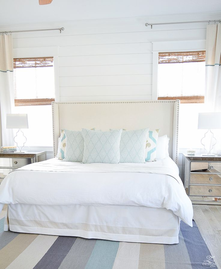 beach house bedroom decor coastal cottage bedroom
