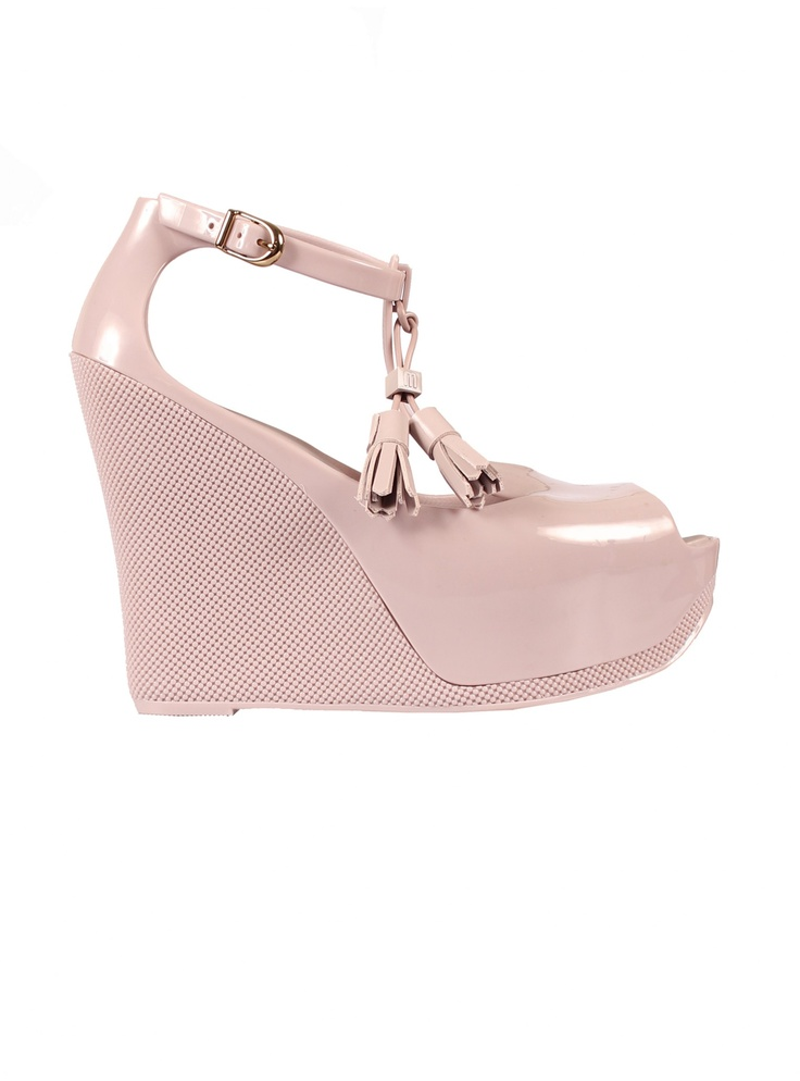 Melissa Shoes | Peace Wedges NudeMelissa Shoes, Wedges Nude, Fashion House, Miso Pretty, Melissa Design, Vivian Westwood, Peace Wedges, Daughters, Melissa Of Arabian
