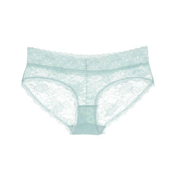 Fair Aqua True&Co. Best Lace Hipster Ever Panty