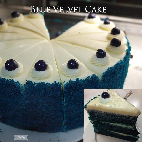 Blue Velvet Cake - When it comes to velvet cake, why does red get all the glory? These buttermilk cakes are just as good — and maybe even a little more exciting — when made with other colors. Because that's all that velvet cakes are (in case you're one of the many thousands who isn't quite sure), just buttermillk, a touch of cocoa powder and food coloring.