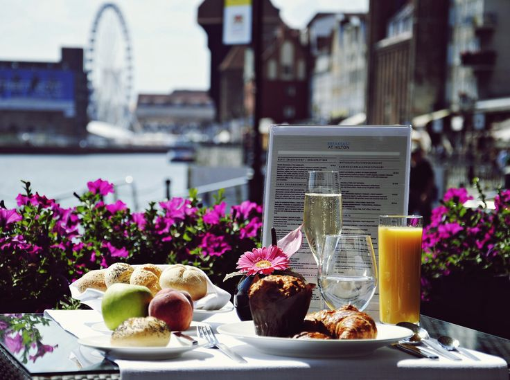 Breakfast with the view at Hilton Gdansk – exceptional start of the day!
