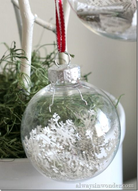 easy Christmas craft kids can help with - from Always in Wonder