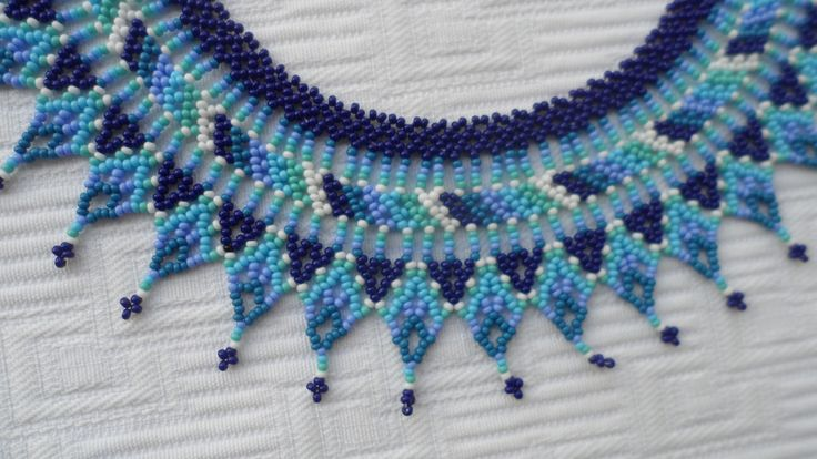 Handmade Colombian Bead Necklace (BN525) | Little Colibri