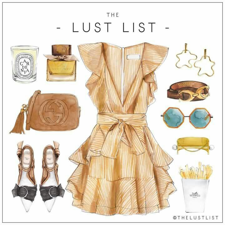 "LINE BOTWIN ""girly illustrations"" #chic #fashion #girly #illustration#thelustlist #lust #list"