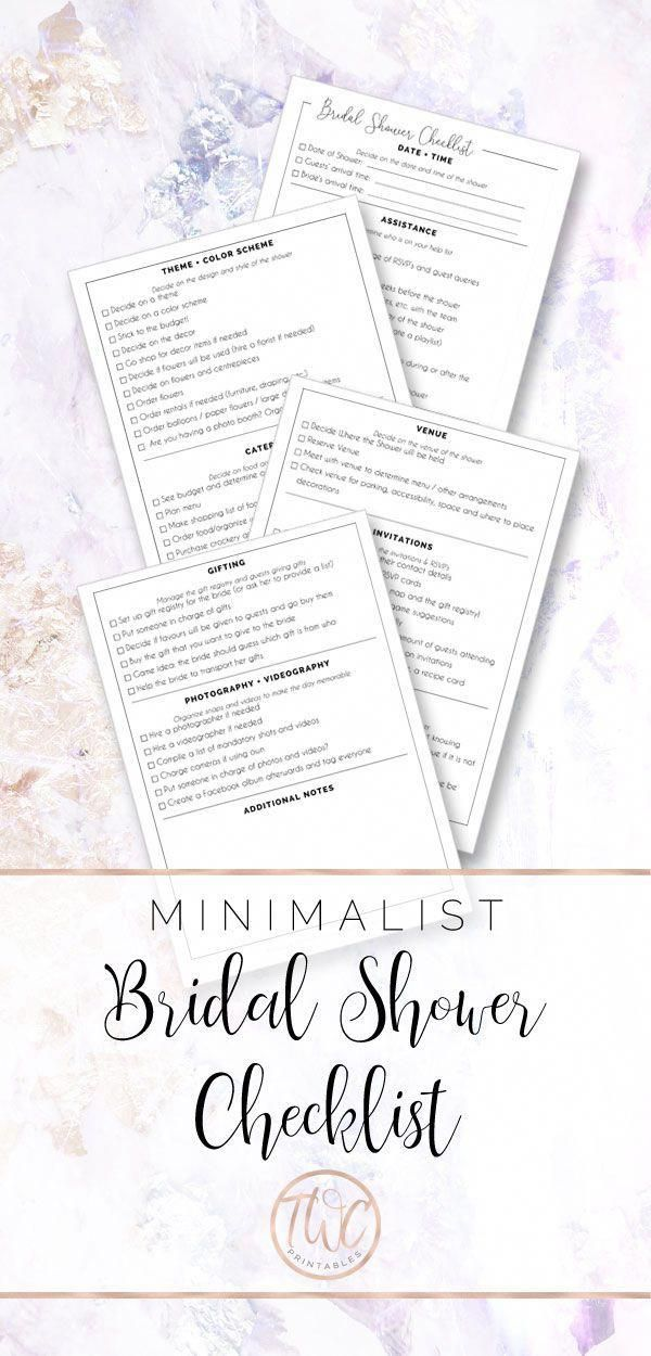 the bridal shower checklist will help you to plan the perfect shower organize and plan out all of your bridal shower ideas games decorations