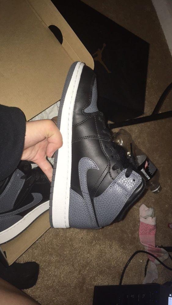 bb7417c2dbf7c Air Jordan 1 Mid BG #fashion #clothing #shoes #accessories ...