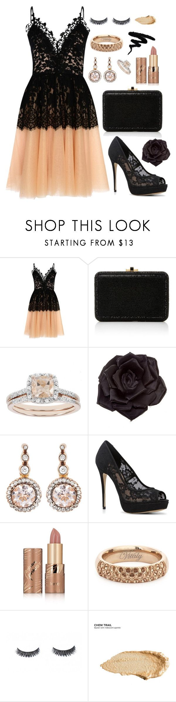 """""""Prom Night 😇"""" by tegan-nottle ❤ liked on Polyvore featuring True Decadence, Judith Leiber, Modern Bride, Johnny Loves Rosie, Selim Mouzannar, ALDO, tarte, Luxie and Urban Decay"""
