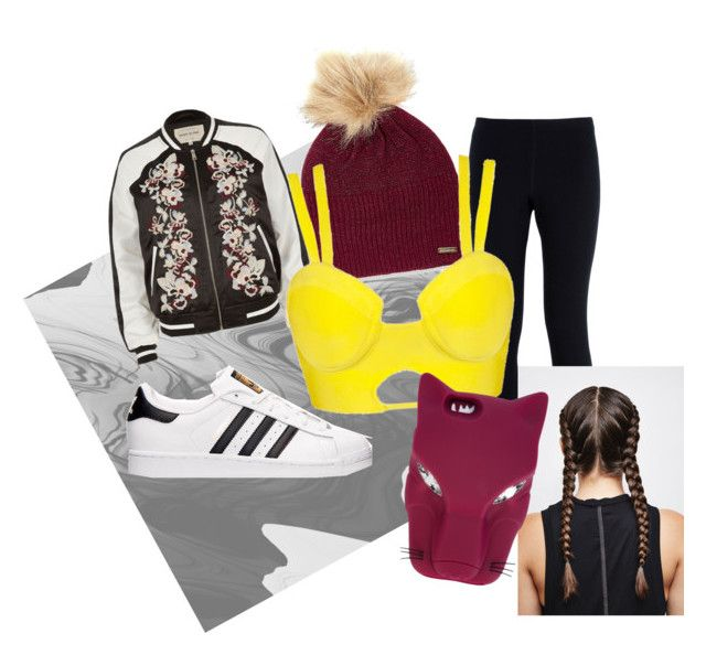sporty lingerie by messypineapple93 on Polyvore featuring River Island, NIKE, adidas, Steve Madden and STELLA McCARTNEY