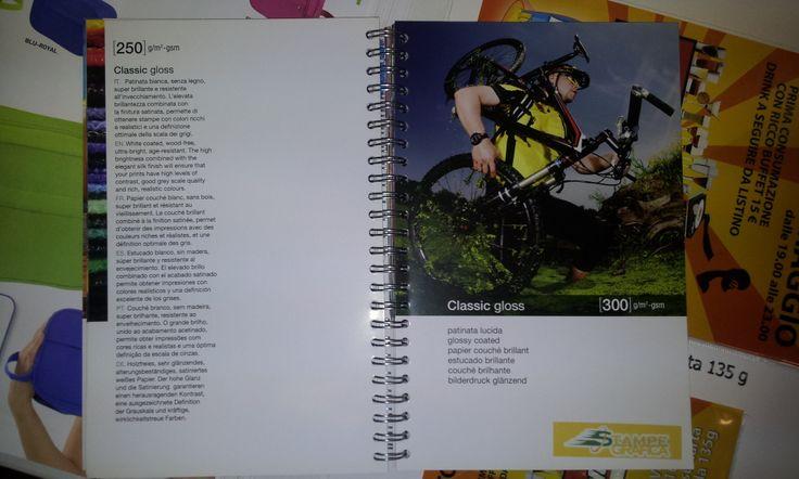 Nuovo catalogo grammature carta www.stampegrafica.it ! 64 tipi di carta diversi. Lucida, patinata, opaca, cartoncino... e molti altri! Provare per credere!