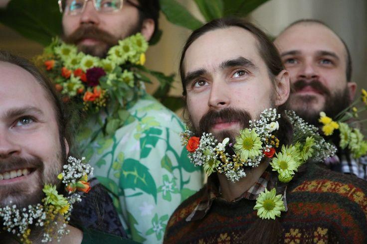 #hairfucker #beard #eco #spb #Russia #flowers