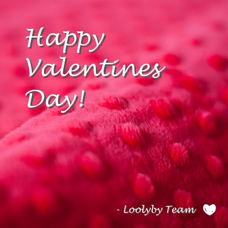 Happy Valentines Day from Loolyby!