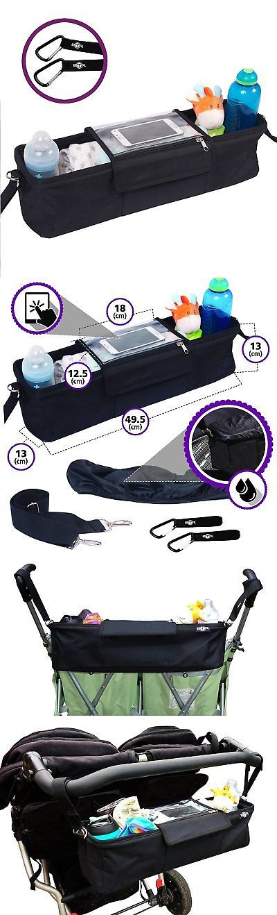 Organizers and Nets 180915: Best Double Stroller Organizer Storage Bag For Double Twin Strollers, Cell And 2 -> BUY IT NOW ONLY: $38.05 on eBay!
