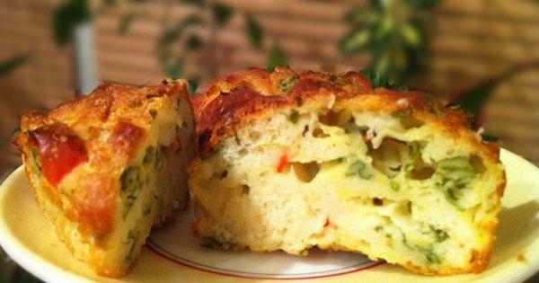 Маффины из кабачков: блюдо, от которого сложно оторваться! | Четыре вкуса
