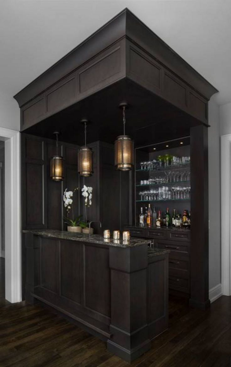 10 Stylish Home Bar Designs That Make You Relaxed