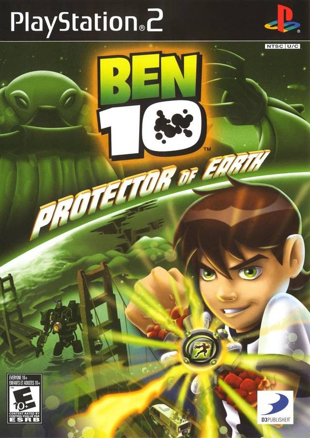 Ben 10: Protector of Earth (Sony PlayStation 2, 2007) Complete