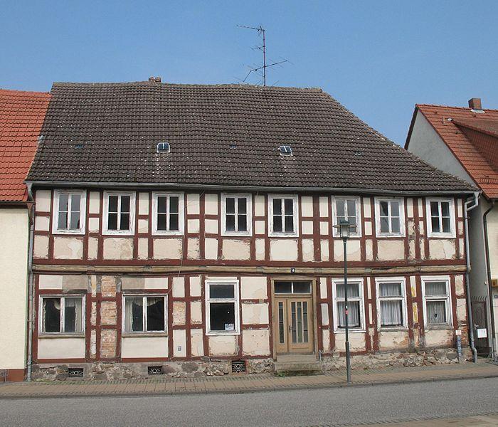 Wohnhaus Ernst-Thälmann-Straße 14 in Putlitz in Brandenburg, Deutschland