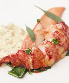 Galton Blackiston serves tender sous vide lobster with a luxurious sauce Choron. A variation of Hollandaise sauce, sauce Choron is flavoured with tomato and tarragon.
