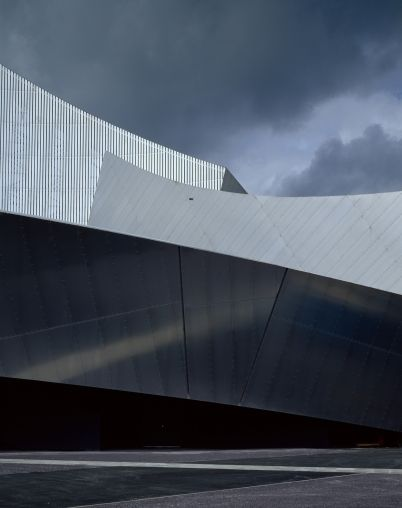Daniel Libeskind Imperial War Museum North Manchester Photographed By Hlne Binet