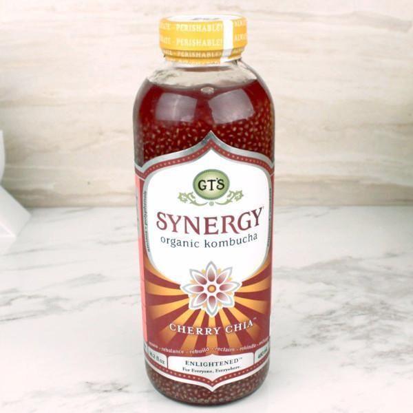 GT'S Synergy Kombucha Organic Cherry Chia
